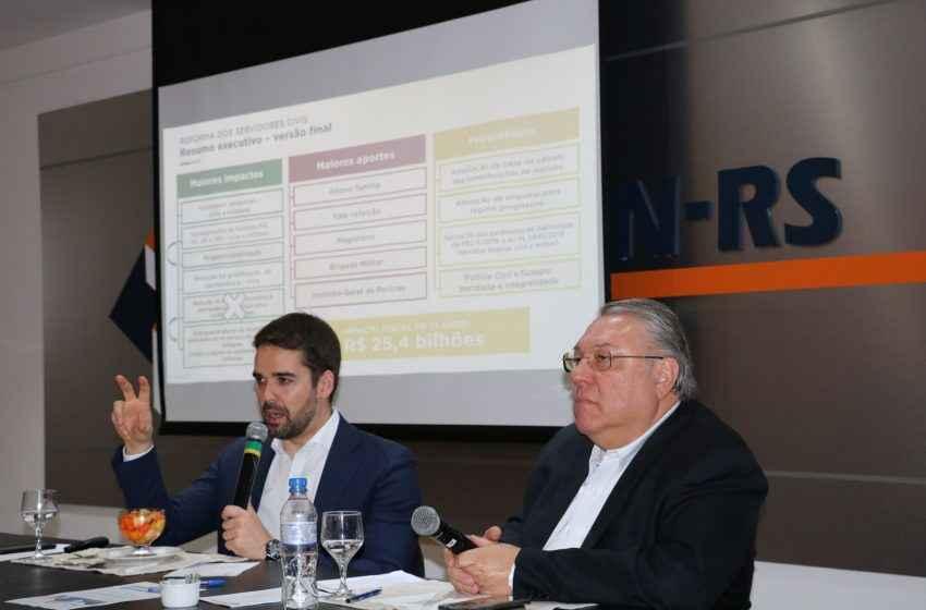 Empresários apoiam a reforma estrutural do RS