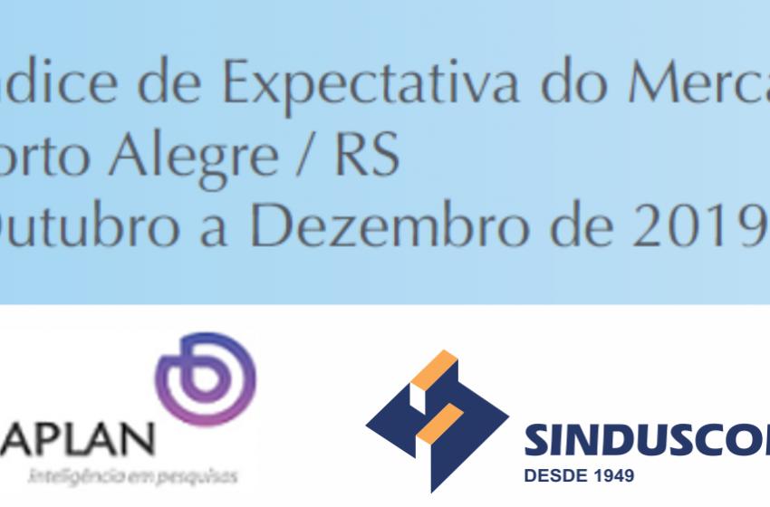 Mercado imobiliário de Porto alegre está mais confiante com 2020