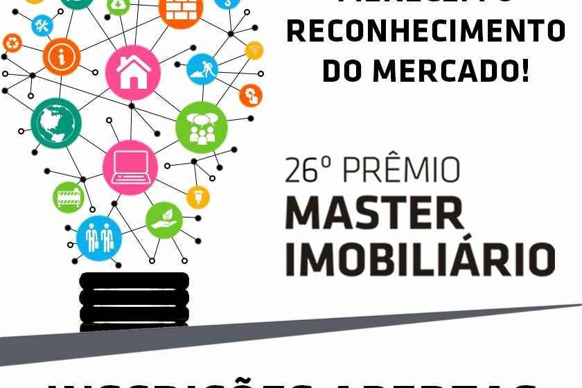 Prêmio Master Imobiliário 2020: inscrições abertas até 6 de março