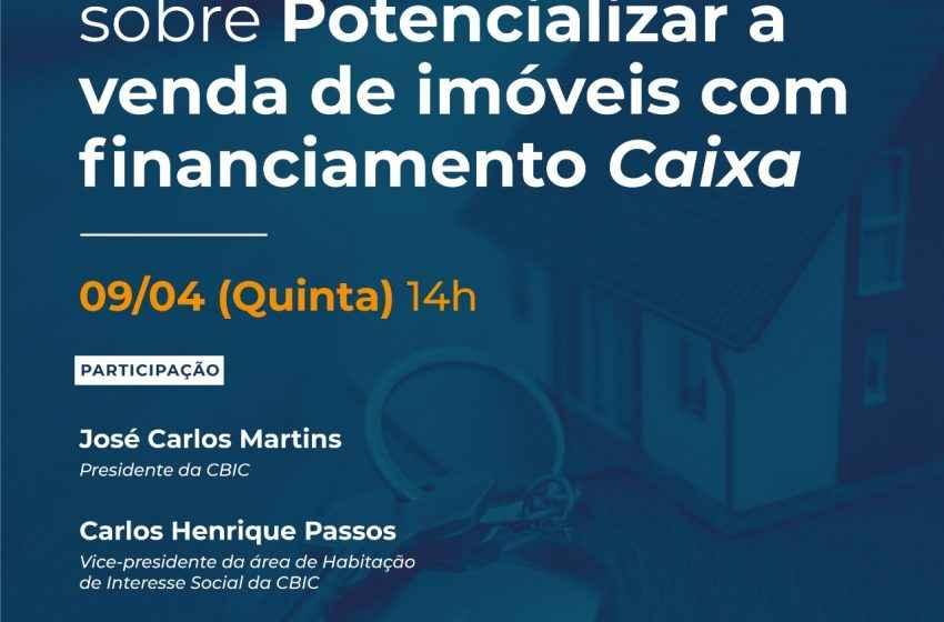 """Diálogos CIBIC sobre """"Potenciar a venda de imóveis com financiamento Caixa"""""""