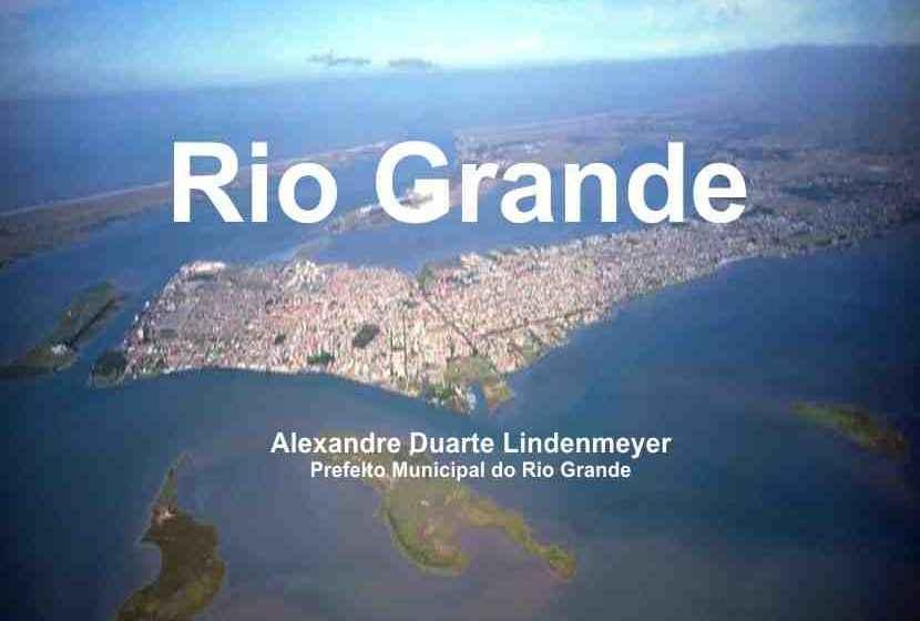 Prefeito de Rio Grande apresenta investimentos para os próximos anos