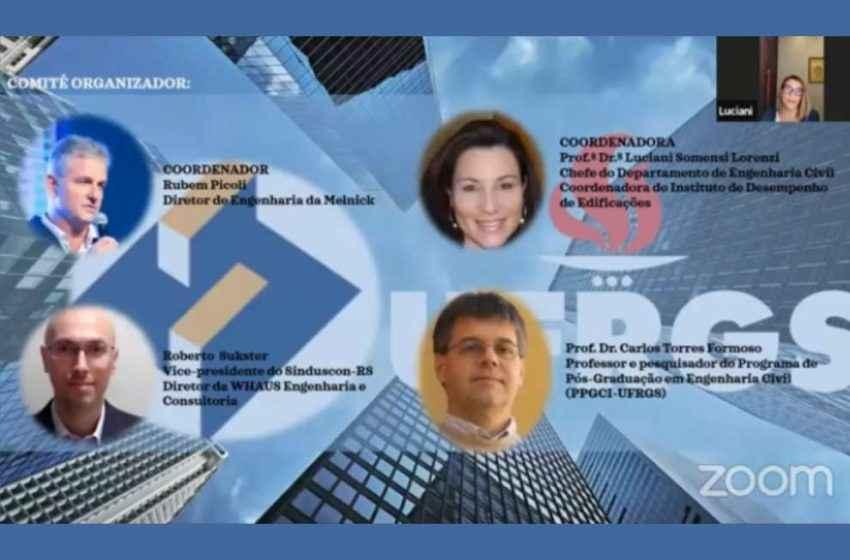 Sinduscon-RS e UFRGS lançam parceria inédita