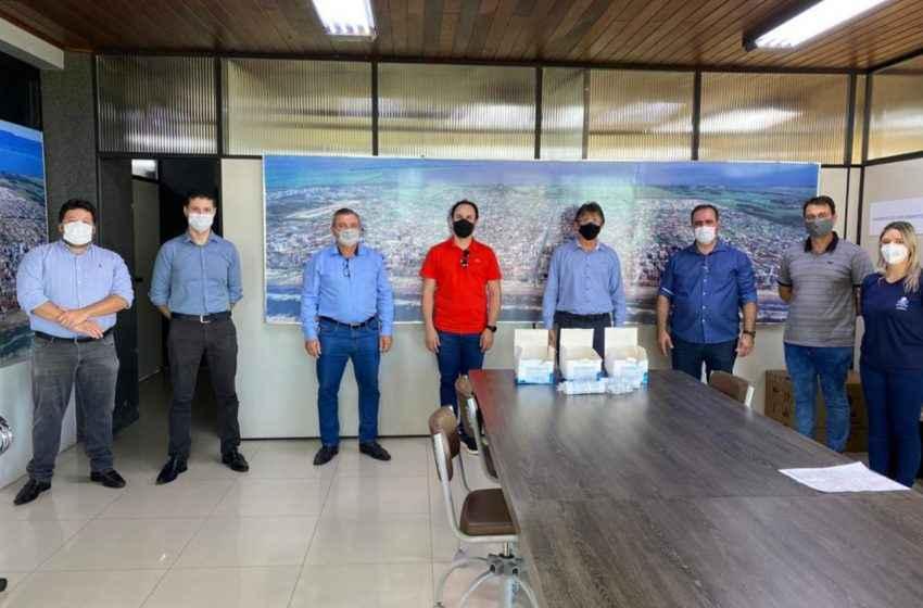 Entidades empresárias do Litoral Norte doam testes Covid à Prefeitura de Capão da Canoa