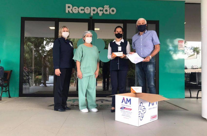 Setor da construção civil entrega doações para os hospitais Ana Nery e Santa Cruz