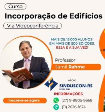 Curso Incorporação de Edifícios/Educ.eng