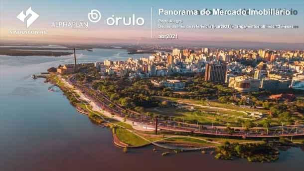 Taxa de velocidade de vendas de imóveis novos foi de 10,3% em março em Porto Alegre