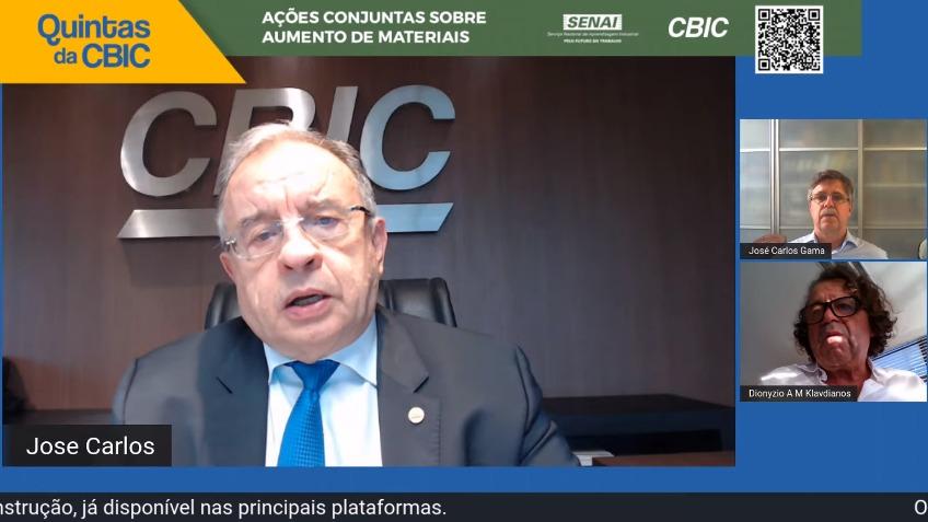 Alta no preço dos insumos é nociva à vida dos brasileiros, diz CBIC