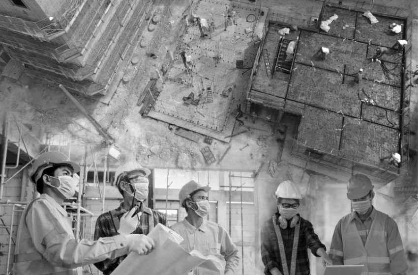 Pesquisa revela cases de combate à Covid nos canteiros de obras