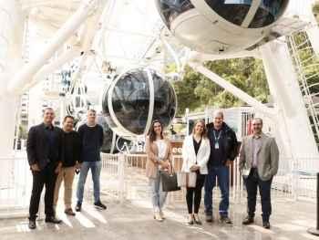 Comitiva caponense visita o Balneário Camboriú/SC em busca de parcerias