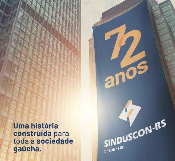Sinduscon-RS 72 anos de história
